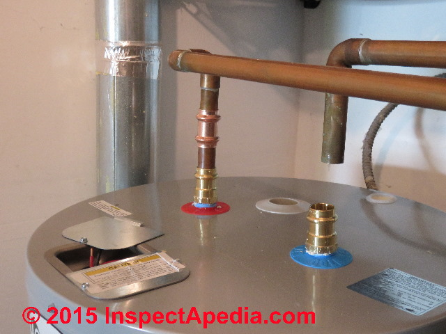 Water Tank Plumbing : Electric hot water heater replacement