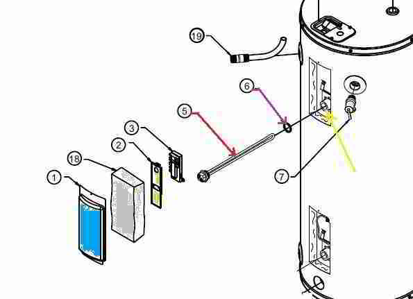 electric water heater heating element replacement procedure, how toelectric water heater heating element terminals (c) daniel friedman