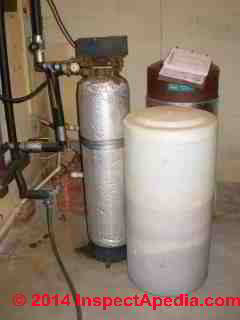 Antiquated but still functioning water softener, Wards? (C) Daniel Friedman
