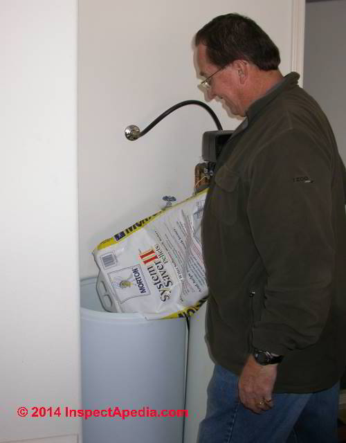 Water Softener Brine Tank Repair Table Of Problems Amp Cures