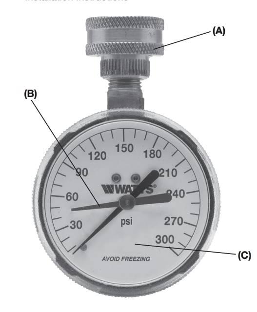 water pressure how to measure water pressure water flow. Black Bedroom Furniture Sets. Home Design Ideas