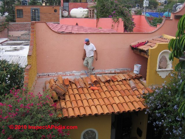 Clay Tile Roof Flashing Details