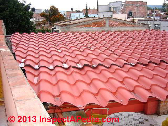 Concrete Duralita Amp Metal Alternatives To Clay Tile Roofs