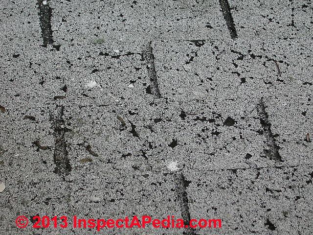 Asphalt Roof Shingle Defects Organic Or Quot Felt Quot Based