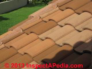 Clay tile roof, Boca Raton FL (C) Daniel Friedman
