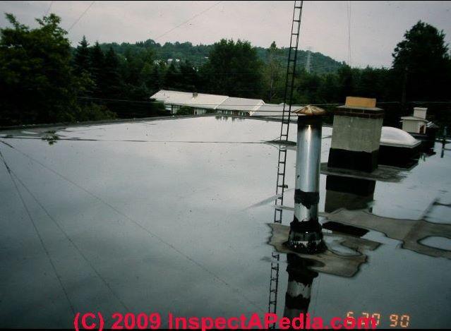 Flat roof design to avoid moisture problems c daniel friedman