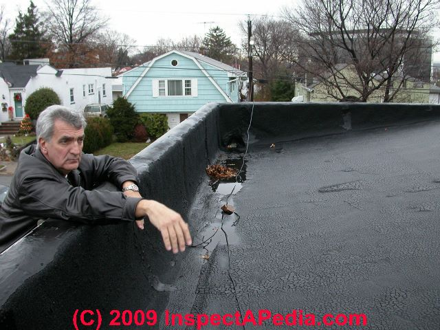 Flat Low Slope Roof Moisture Warnings Prevention Cures