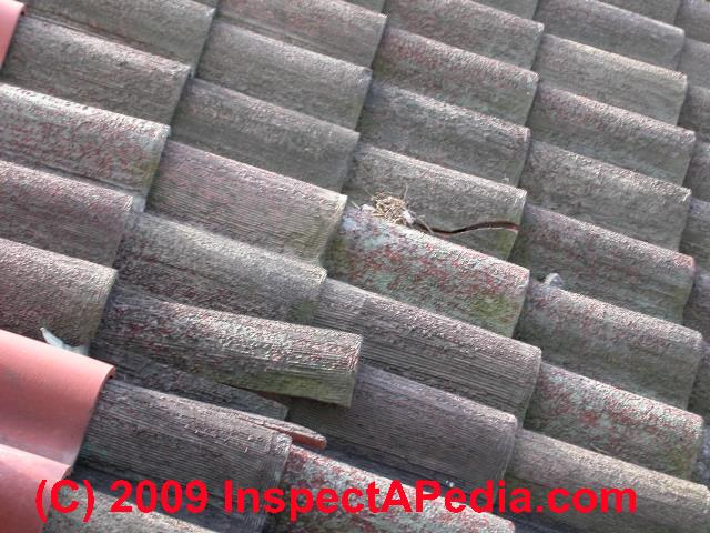 Clay Tile Roof Damage Leaks Or Wear Inspection Causes