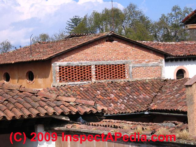 Concrete roof concrete roof tiles concrete roofing for Spanish clay tile roof