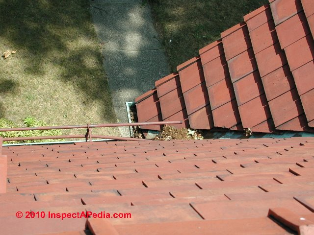 Clay tile roof flashing details for Clay roofs