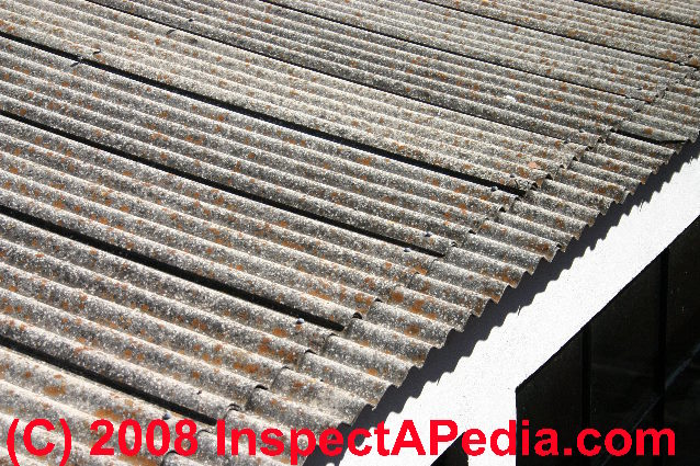 Guide To Corrugated Roof Covering Materials Asbestos