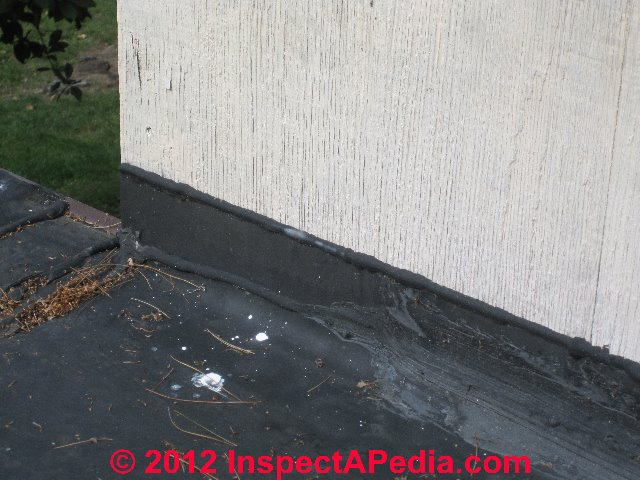 ... EPDM Rubber Roof Installation And Repair Details (C) Daniel Friedman  Eric Galow
