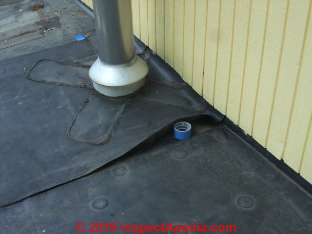 Epdm Rubber Roof Seam Repair Methods Use Epdm Seam Tape