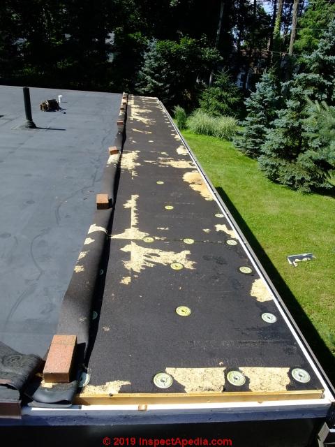 EPDM Rubber Roof Installation And Repair Details (C) Daniel Friedman Eric  Galow ...