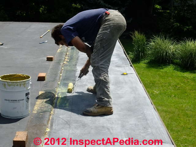 EPDM Rubber Roof Coating for Repair, Life Extension, Color Change