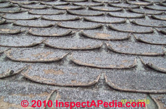 Shingle Curling Asphalt Roof Shingle Defects May Include