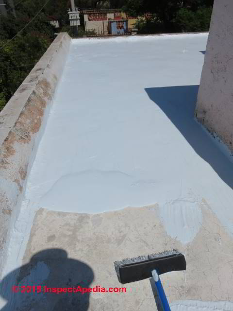 Flat roof leak diagnosis & repair (C) Daniel Friedman ...