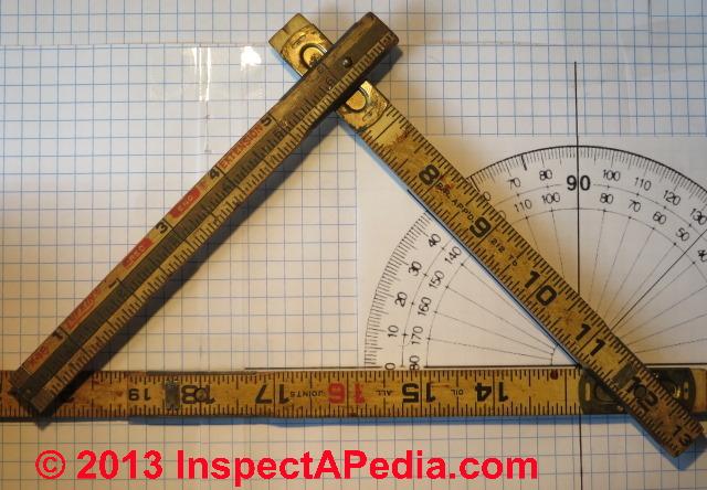 3 inch Sticks 1 Metre Folding Rule Folding Rule Scale Construction House Plastic Black