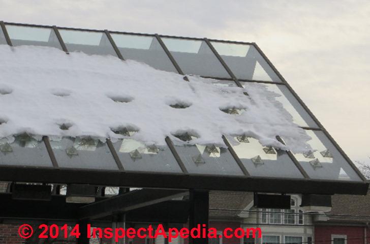 Types Snow Retention System Snow Guards Amp Snow Brake Or