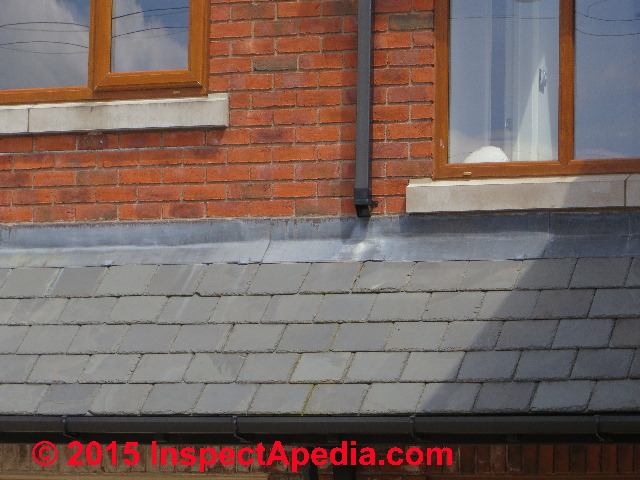 roof wall flashing properly installed on a home near goodrich castle in ross on wye - How To Install Roof Flashing