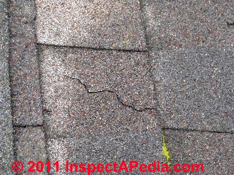 Asphalt Roof Shingle Splices As A Roof Defect How