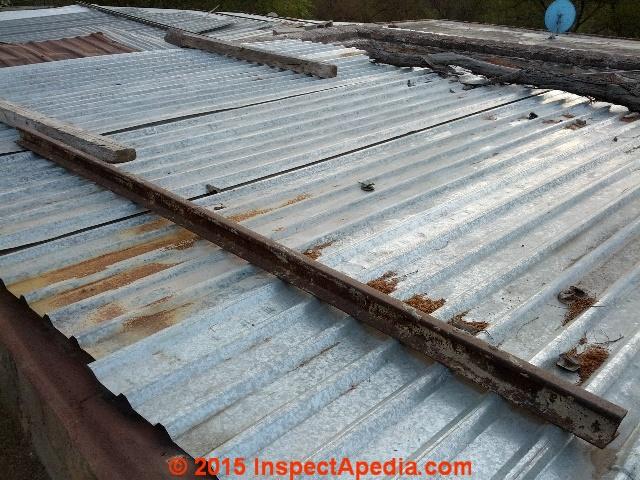 Galvanized Steel Roof At Lourdes In Mexico (C) Daniel Friedman