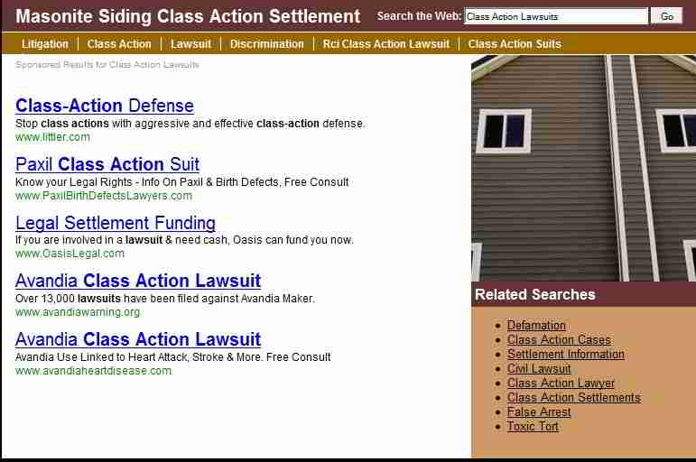 American Cemwood Roof Shake Litigation, how to file a claim