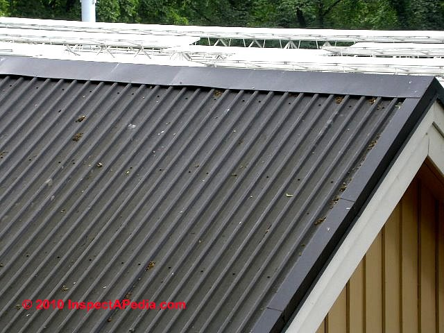 Exposed Fastener Metal Roof Panel Systems Metal Roofs For