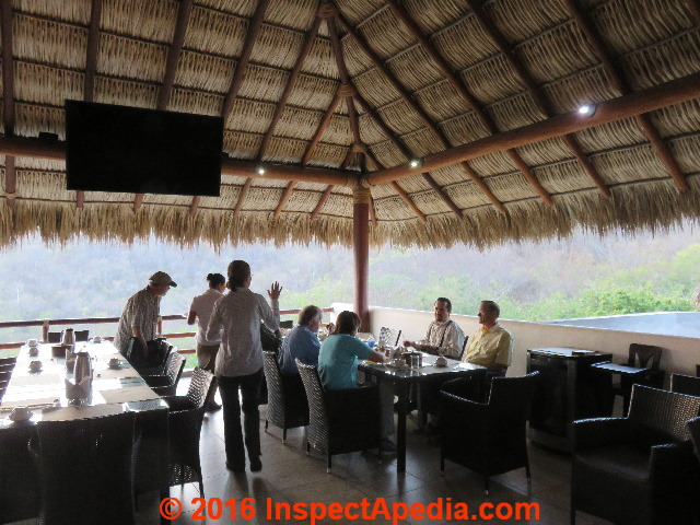 Thatch Roof Inspections Information Sources Design