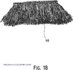 Palm thatch preparation illustrated by Armando_Garcia_US7900415_B2
