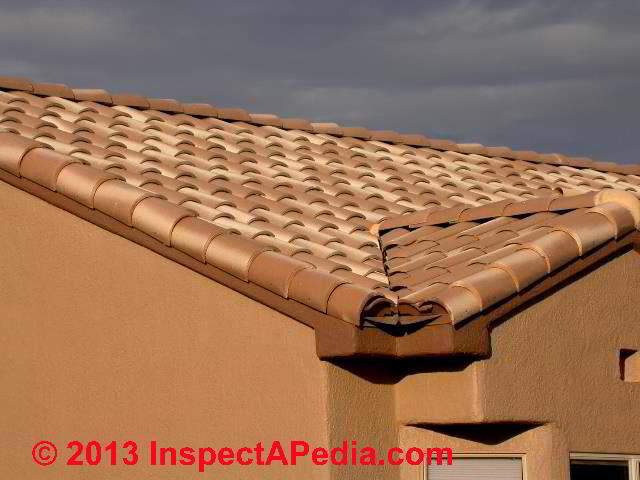 Clay Tile Roof Identification Inspection Installation