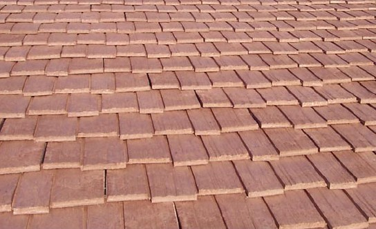 Plastic or synthetic roofing products materials Composite roofing tiles