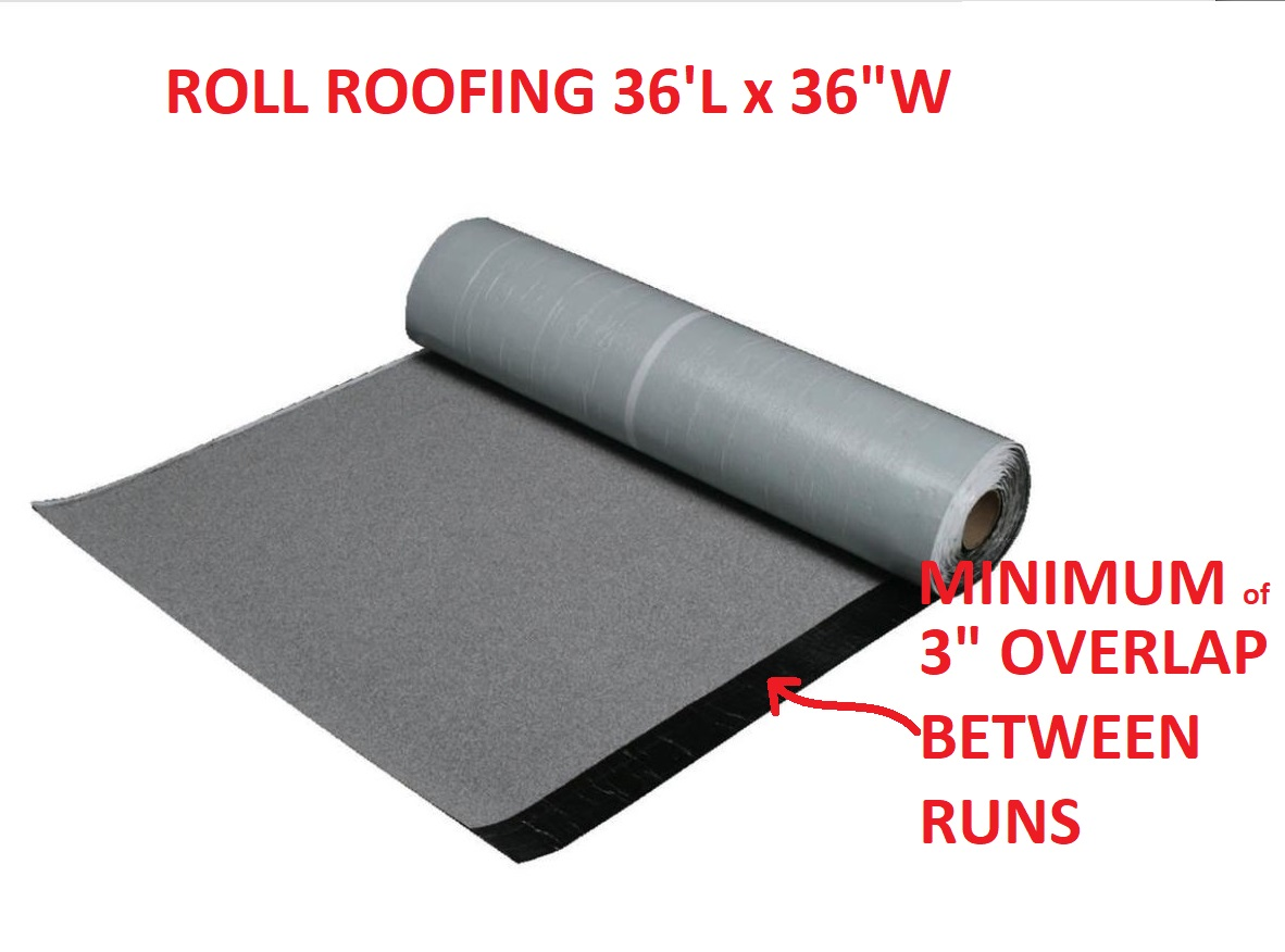 Asphalt Sbs Roll Roofing Installation Details How To Install Roll Roofing