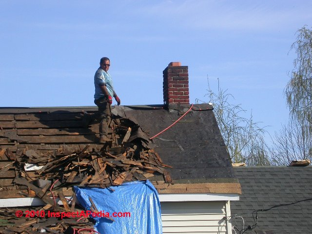 Mold In Attics When Is A Roof Tearoff Necessary To Remove