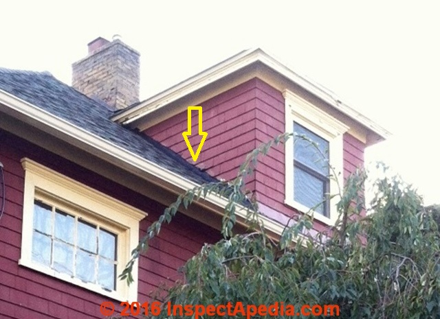 Wall Flashing Roof Wall Flashing Errors And Causes Of Leaks