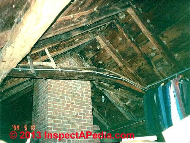Mold In Attics When Is A Roof Tearoff Necessary To
