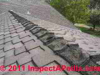 Ridge Amp Hip Cap Shingles Installation Inspection