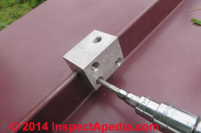 Clamp On Snow Brakes For Metal Roofs How To Install Snow