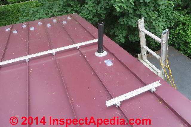 Rooftop Plumbing Vent Repair How To Fix A Snow Or Ice Damaged Or Broken Plumbing Vent