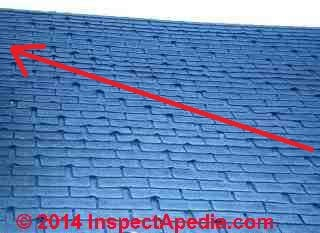 Asphalt Shingle Laddering Wear Amp Failure Types