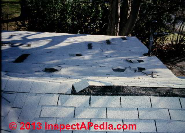 Ridge Amp Hip Cap Shingles Installation Inspection