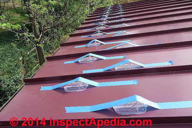 Metal Glass Or Smooth Plastic Roof Snow Guard Snow