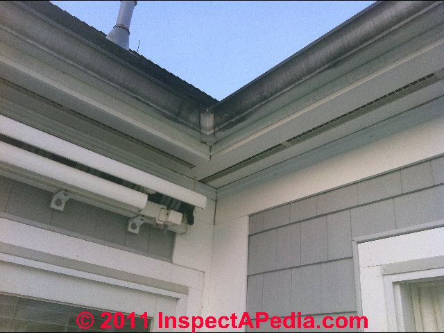 Reply: Continuous Perforated Vent Strips Are Ok, Complete Perforated Soffit  Covering Is More Effective; Be Sure Thereu0027s A Ridge Vent; Close Off Any  Gable ...