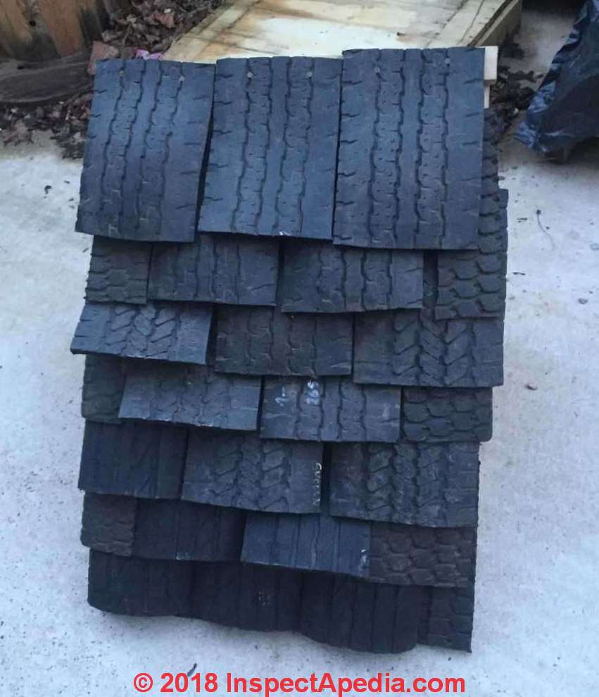 Rubber Roof Shingles Amp Rubber Slates Sources Defects