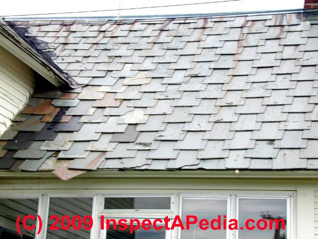 Slate Roofing How To Inspect And Repair Slate Roofs