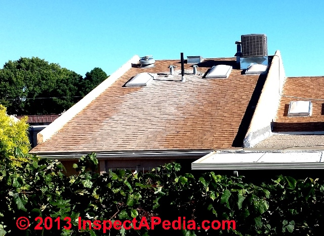 White Stains On Roof Surfaces How To Diagnose Amp Remove