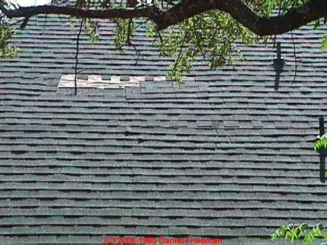 Roof Shingle Wind Damage Assessment Amp Diagnosis For