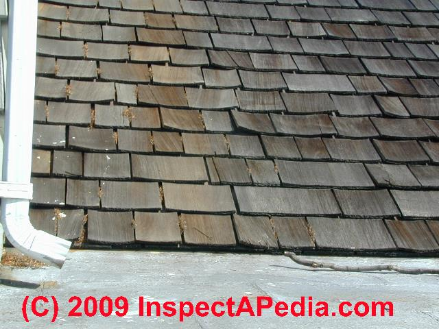 Wood Shingle Amp Wood Shake Roof Wear Signs Amp Installation