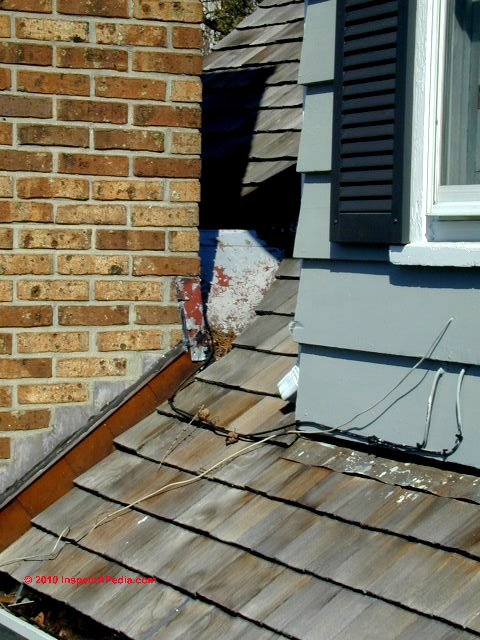 Wood Shingle Or Shake Roof Flashing Details