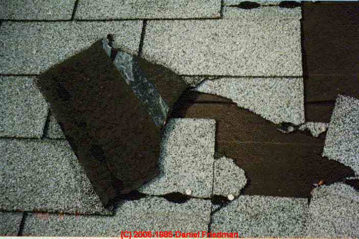Asphalt Roof Shingle Wear Factors Before During And